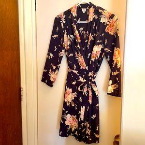 Aritzia Wilfred Floral Franca Dress